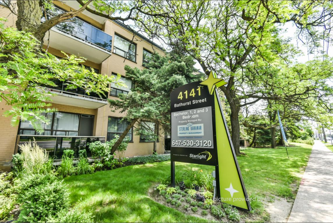 4141 Bathurst Street, NORTH YORK, ON : 1 Bedroom for rent ...