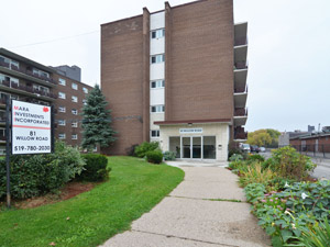 Rental Low-rise 81 Willow Rd, Guelph, ON